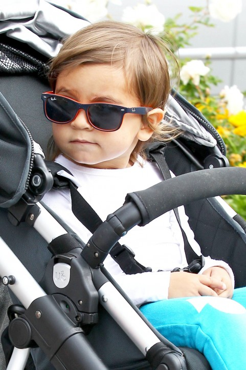 Infant Sunglasses Ray Ban  harper seven beckham voted most stylish celebrity baby the