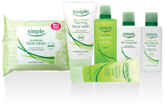 Simple Products win a simple skincare goodie bag the secret obsession