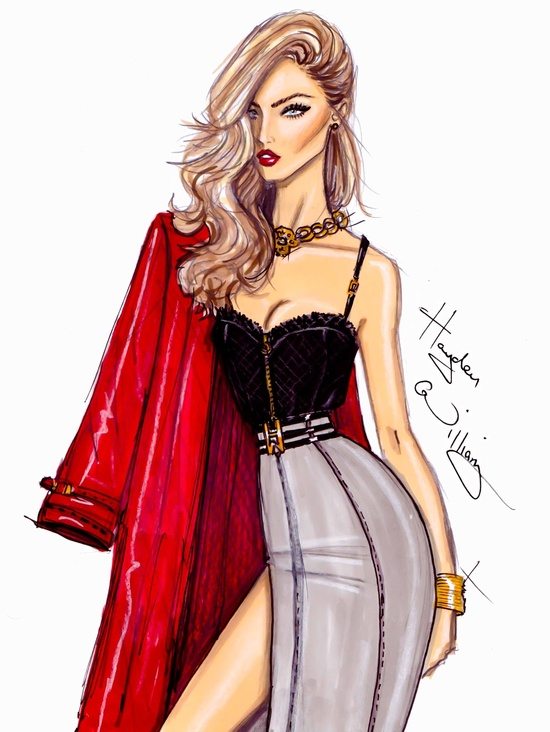 My LOVE For Hayden Williams 'Fashion Illustrations'