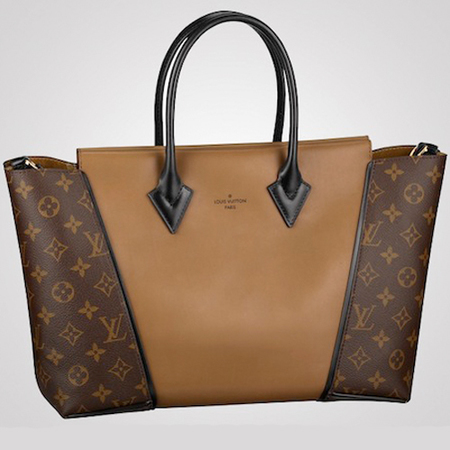 3c562d1661b8 It s a mixture of leather embossed velvet. The bag comes in a range of  colours from sunshine yellow to tan andthe original monogram canvas.