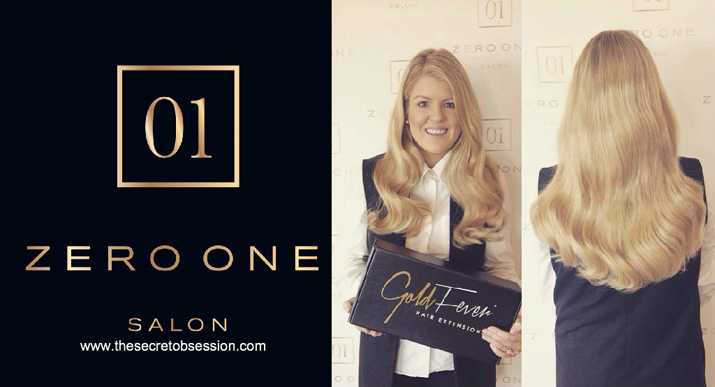 My Gold Fever Hair Extensions @ Zero One - The Secret Obsession