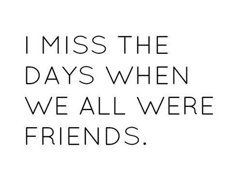 Friendships End. But Memories Last FOREVER!