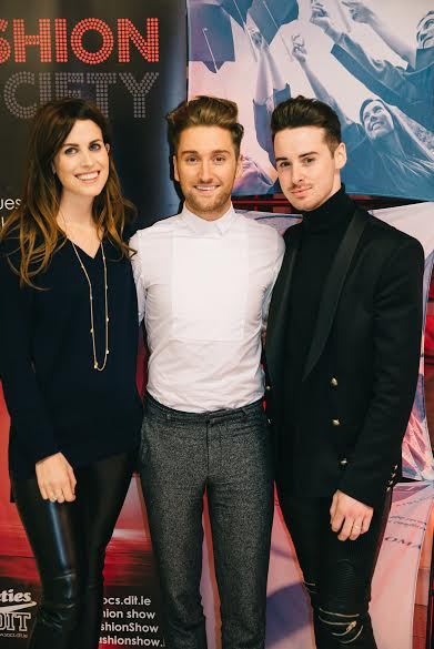 Over 100 students attended The DIT Fashion Show Model Castings with guest judges' Holly White, Xposé stylist and presenter, stylist Brian Conway, leading men's fashion blogger and Rob KennyLeft to right: Holly White, Rob Kenny, Brian Conway