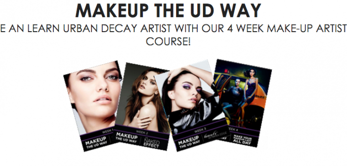 Want To Become An URBAN DECAY Makeup Artist?