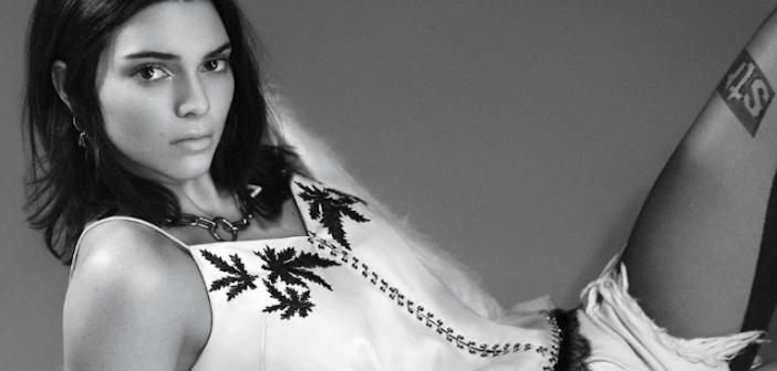 Kendall Jenner ROCKS Vogue September Issue
