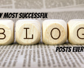 My most successful blog posts EVER