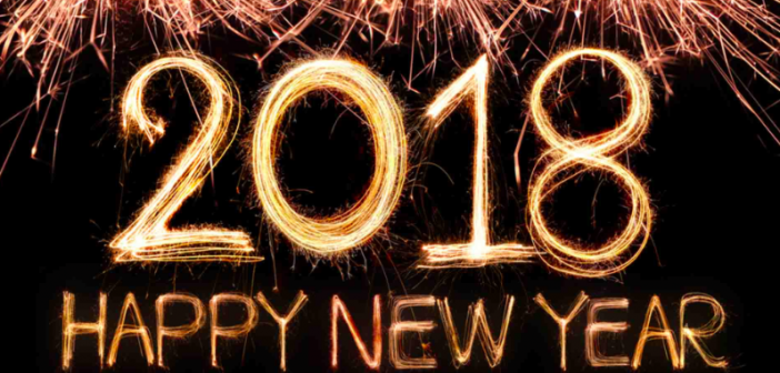 And just like that…it's 2018!