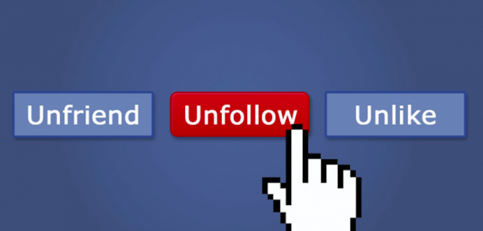 The UNFOLLOW Button Is A Great Thing…..