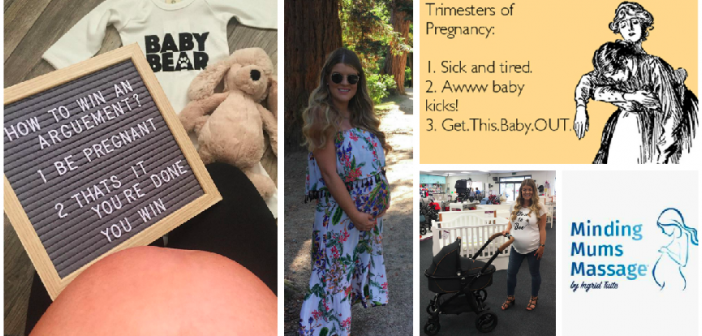 8 MONTH Pregnancy Update: Big Bump, Boobs & Back Pain