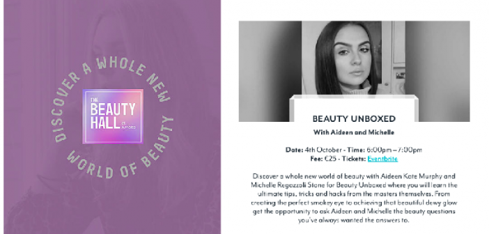 Discover A New World of Beauty at Arnotts Beauty Masterclass Events